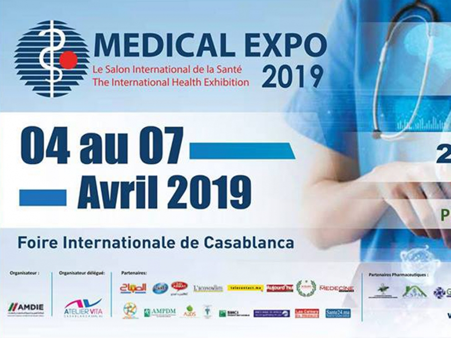 Inscription au Medical Expo 2019